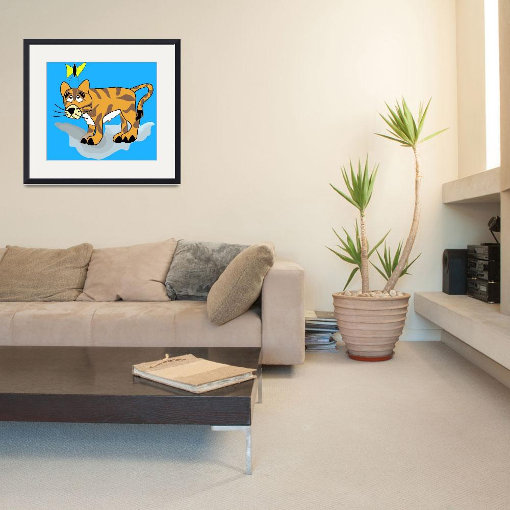 """""""Tilly the Tiger&quot  (2009) by magicalview"""