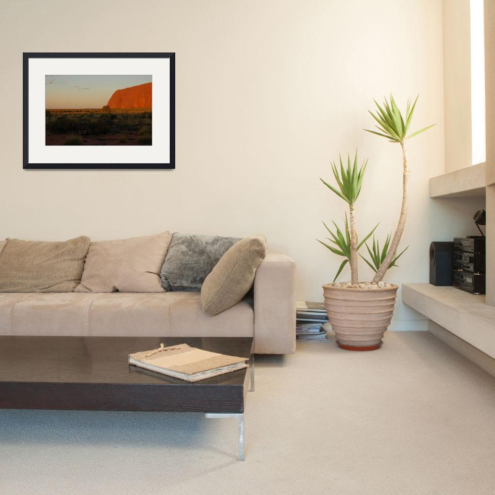 """""""ayers rock&quot  by gubra"""