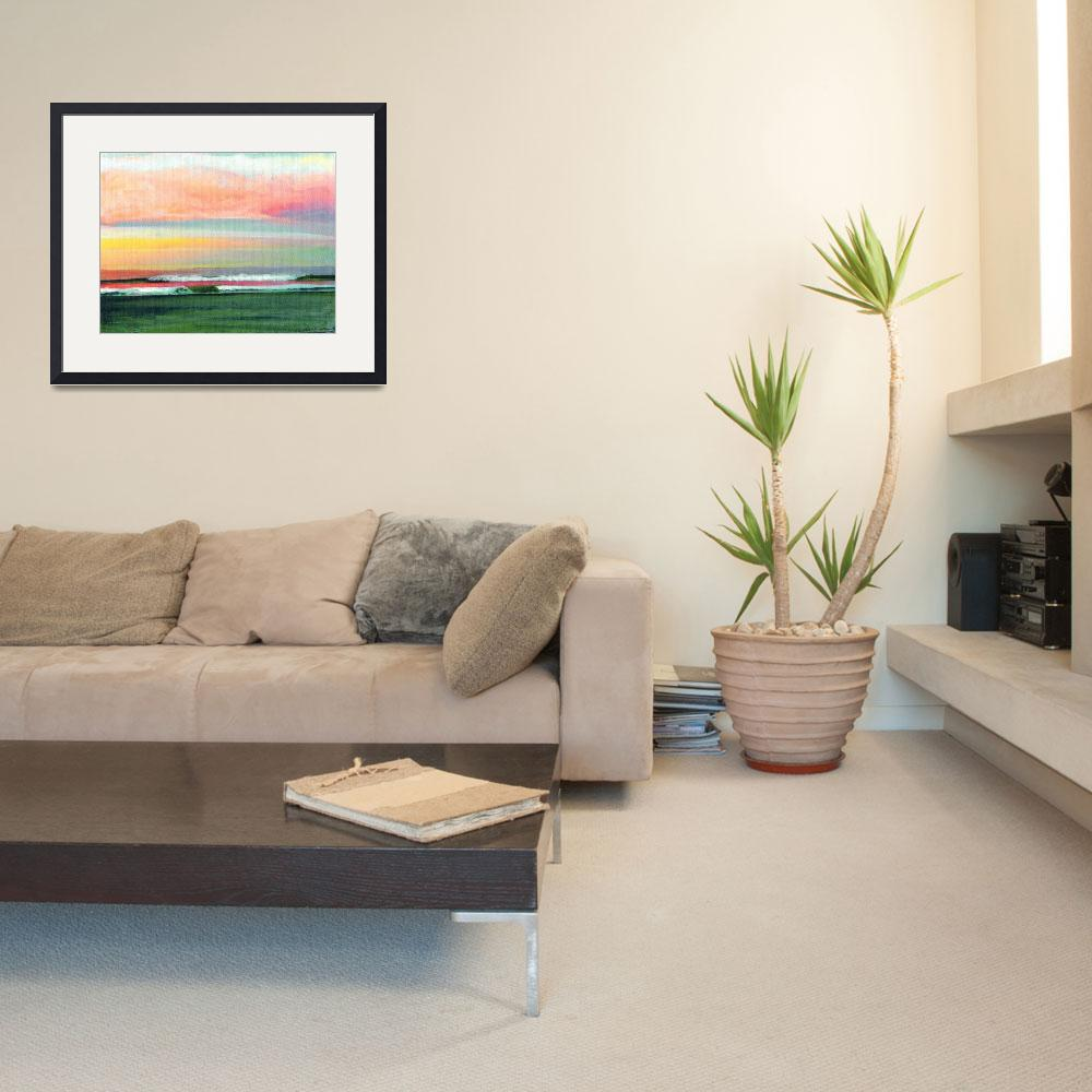 """""""Sunrise at the Ocean San Diego&quot  (2011) by RDRiccoboni"""