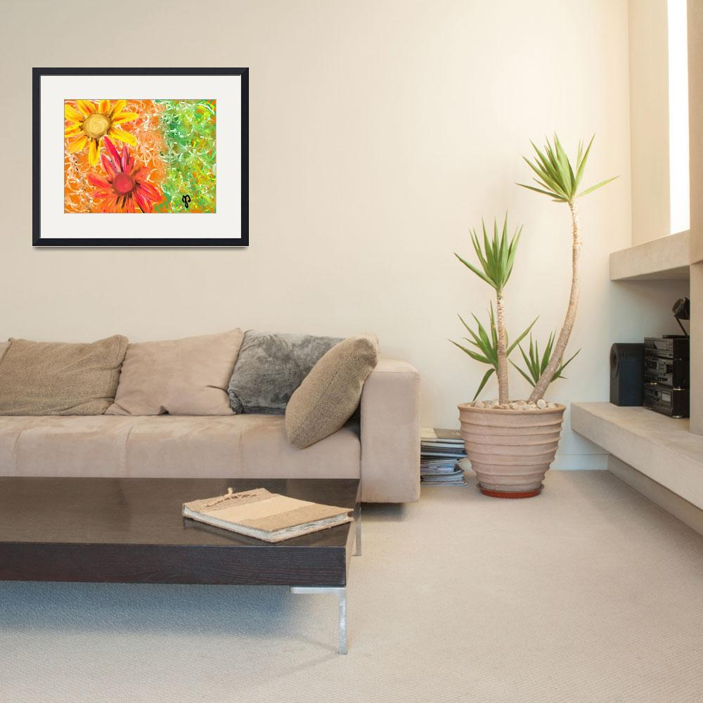 """""""Spring Pretty Floral Painting""""  (2011) by JoDee"""