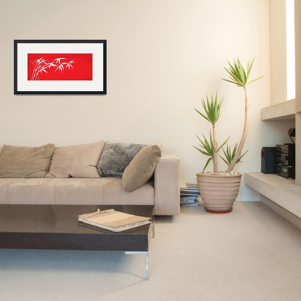 """""""Red bamboo""""  (2011) by nomi"""