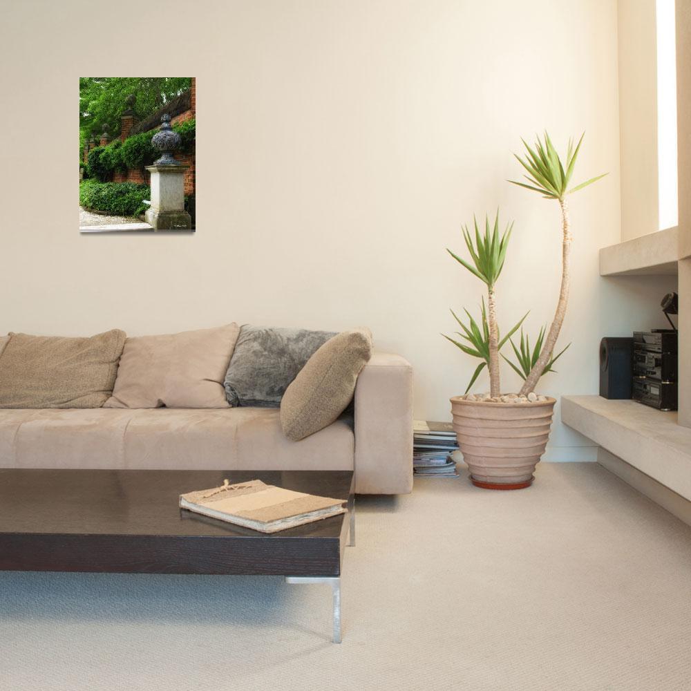 """Garden Wall""  (2013) by inkandbrushcreations"