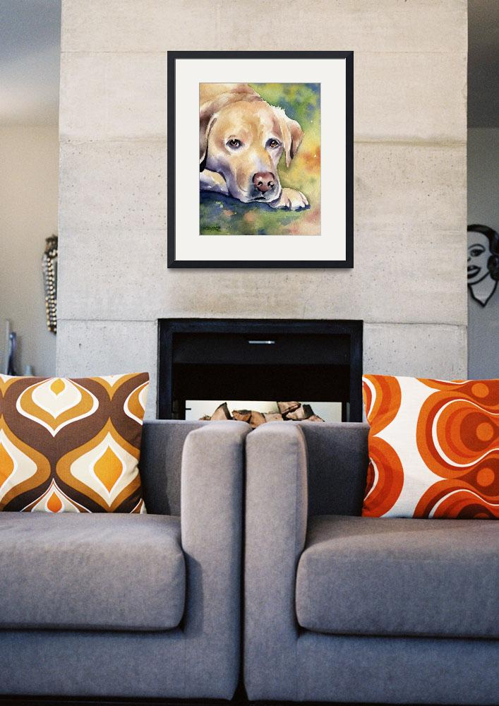 """Labrador Retriever 4&quot  (2015) by k9artgallery"