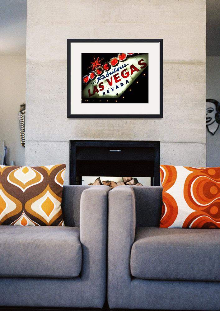 """""""Vegas Sign No. 3""""  (2008) by PadgettGallery"""