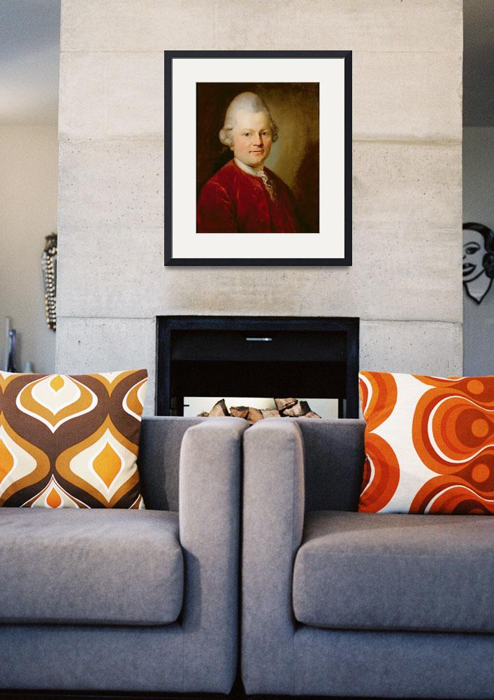 """""""Gotthold Ephraim Lessing, 1727&quot  by fineartmasters"""