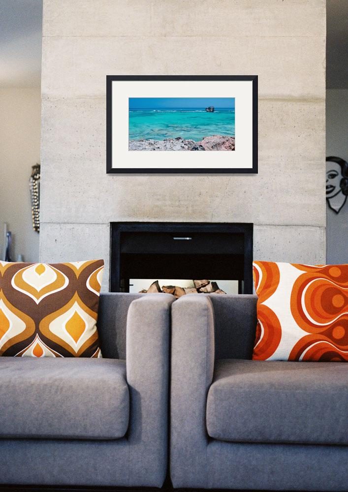 """Church Bay Stripes&quot  (2015) by PadgettGallery"
