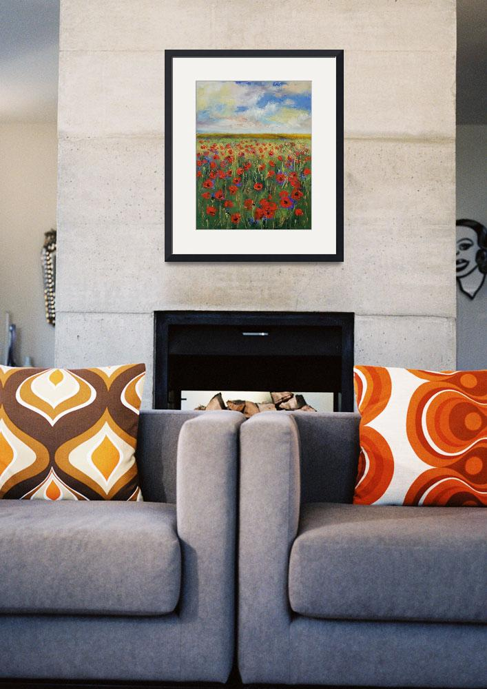 """""""Poppies&quot  by creese"""
