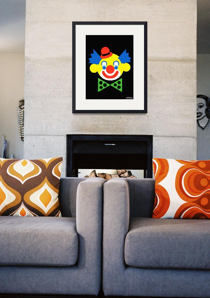 """""""Clown - Art Gallery Selection&quot  by Lonvig"""