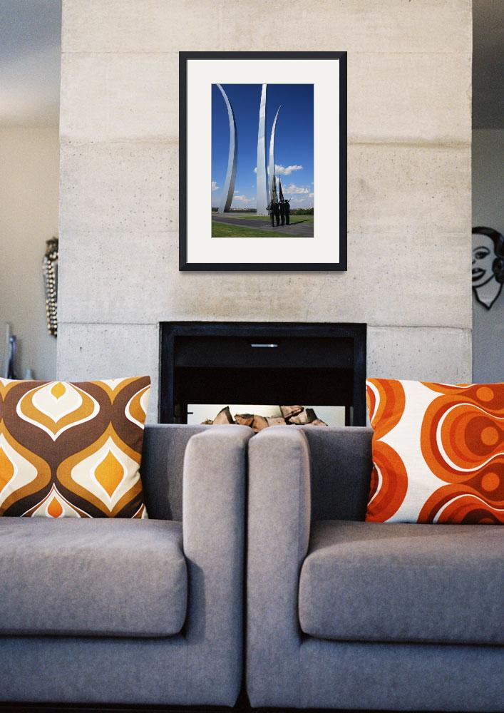 """""""US Air Force Memorial&quot  (2008) by sharpeye"""