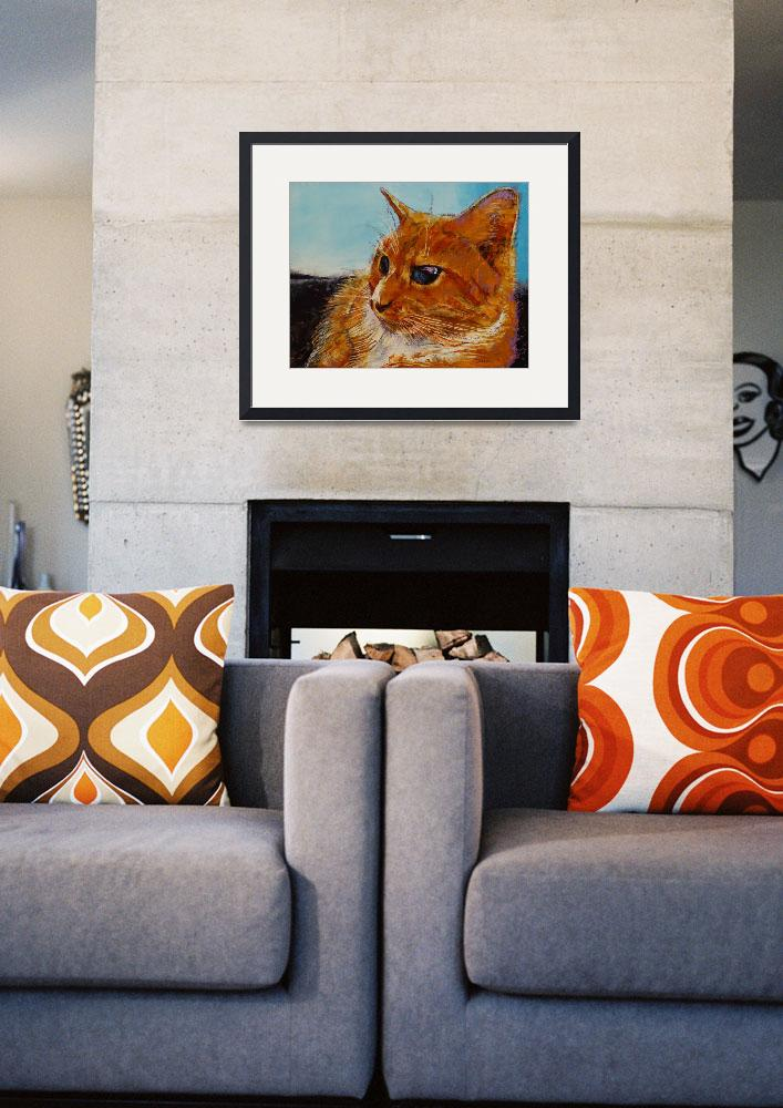"""Orange Tabby Cat&quot  by creese"