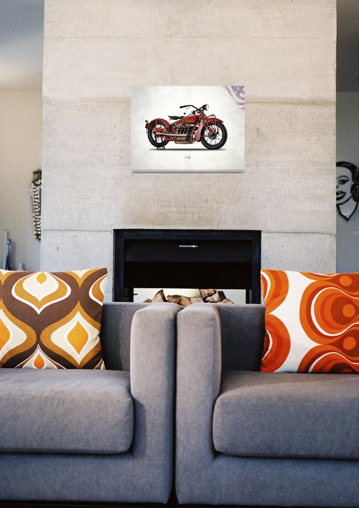 """""""The 1931 Indian 402 Motorcycle&quot  by mark-rogan"""
