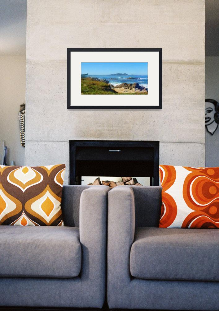 """""""Carmel Bay and Point Lobos&quot  (2013) by JimPavelle"""