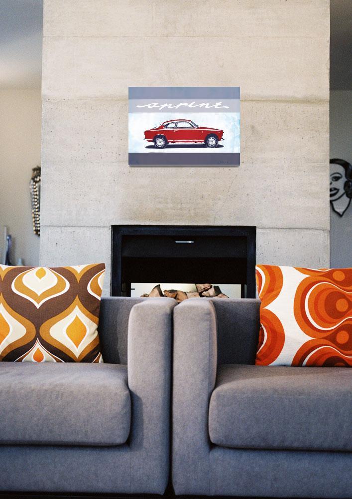 """Red Giulietta Sprint""  (2012) by getshaped"