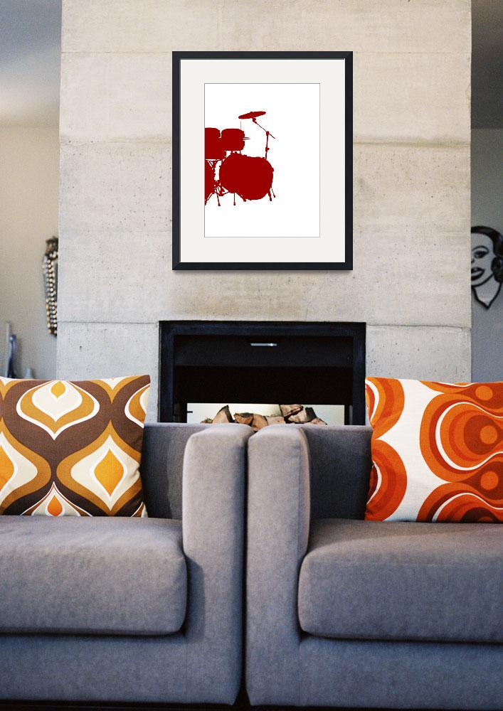 """""""Musical Instrument  Art Poster for Teen Bedroom -&quot  by motionage"""