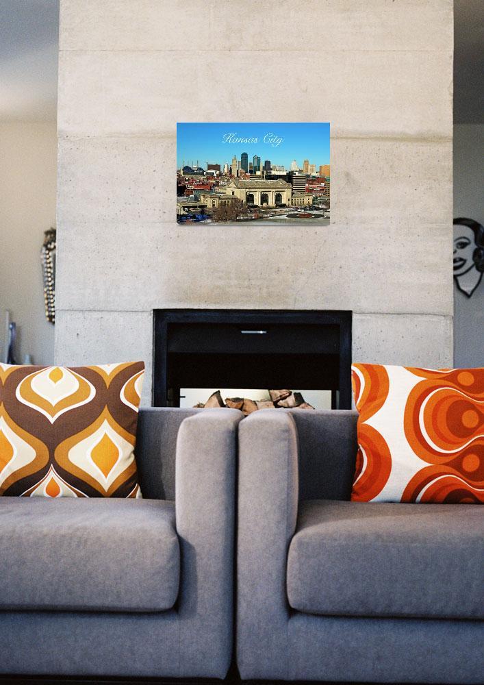 """Kansas City Skyline""  (2011) by ideaproductions"