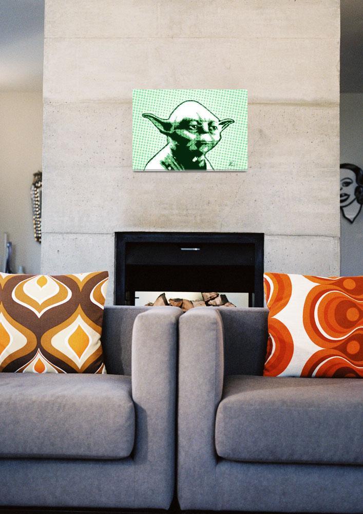 """Yoda | Star Wars | Pop Art""  (2019) by wcsmack"