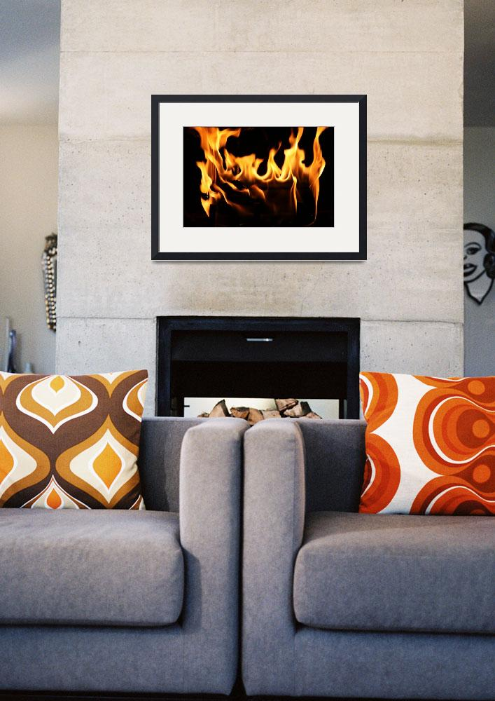 """""""Fireplace&quot  (2010) by edgabel"""