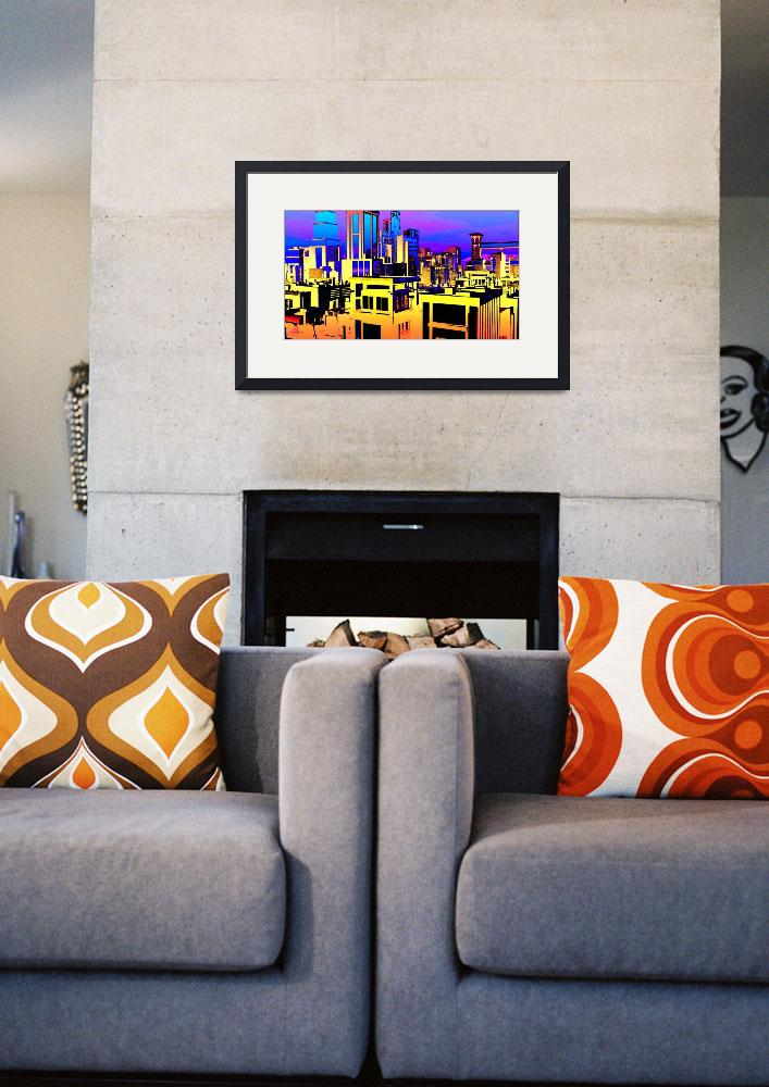 """""""Bold City&quot  (2015) by Chicagoartist1"""