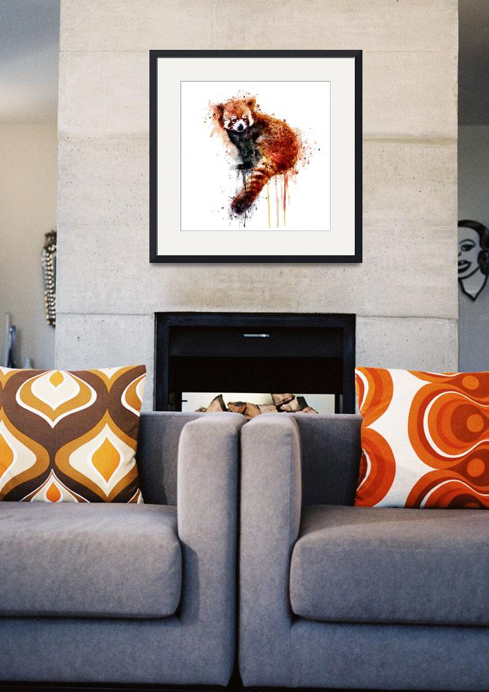 """""""Red Panda&quot  (2015) by MarianVoicu"""