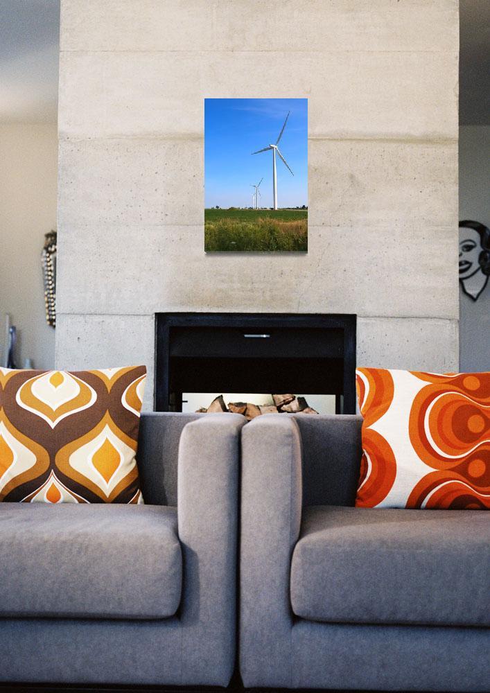 """Wind Turbines&quot  (2008) by mackflix"