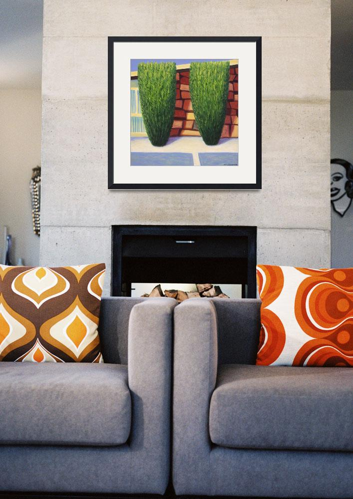 """""""Royal Melbourne Mid Century Modern Home&quot  (2008) by pfleghaar"""