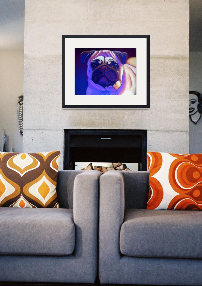 """""""Pug&quot  by NAC"""