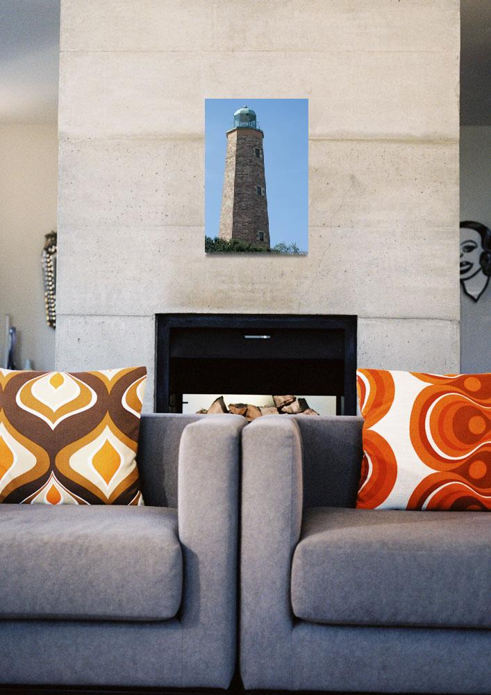 """""""Old Cape Henry Light""""  (2007) by bjmclaughlin"""