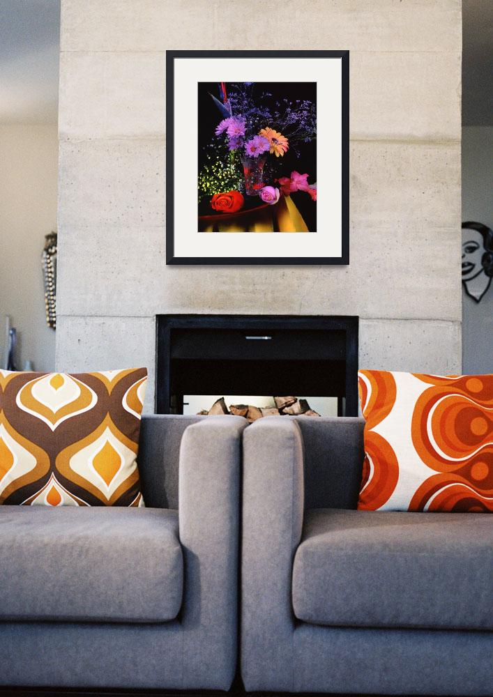 """""""Painting with light  , Floral arrangement&quot  by frankreggio"""