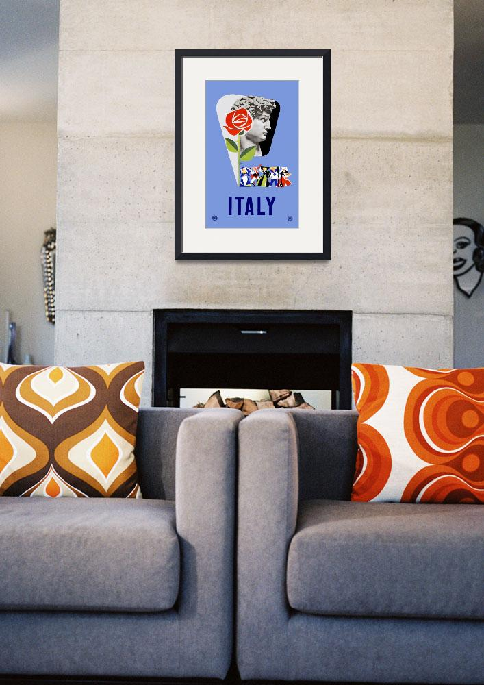 """""""Vintage Italy Travel&quot  by PDGraphics"""