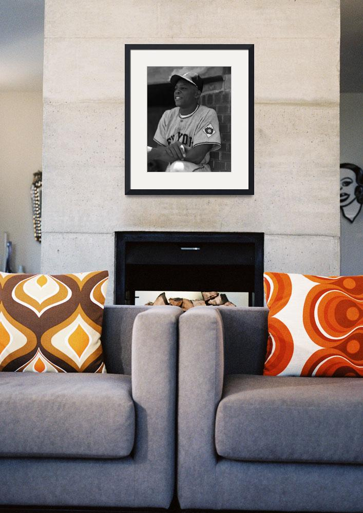 """Willie Mays""  by RetroImagesArchive"