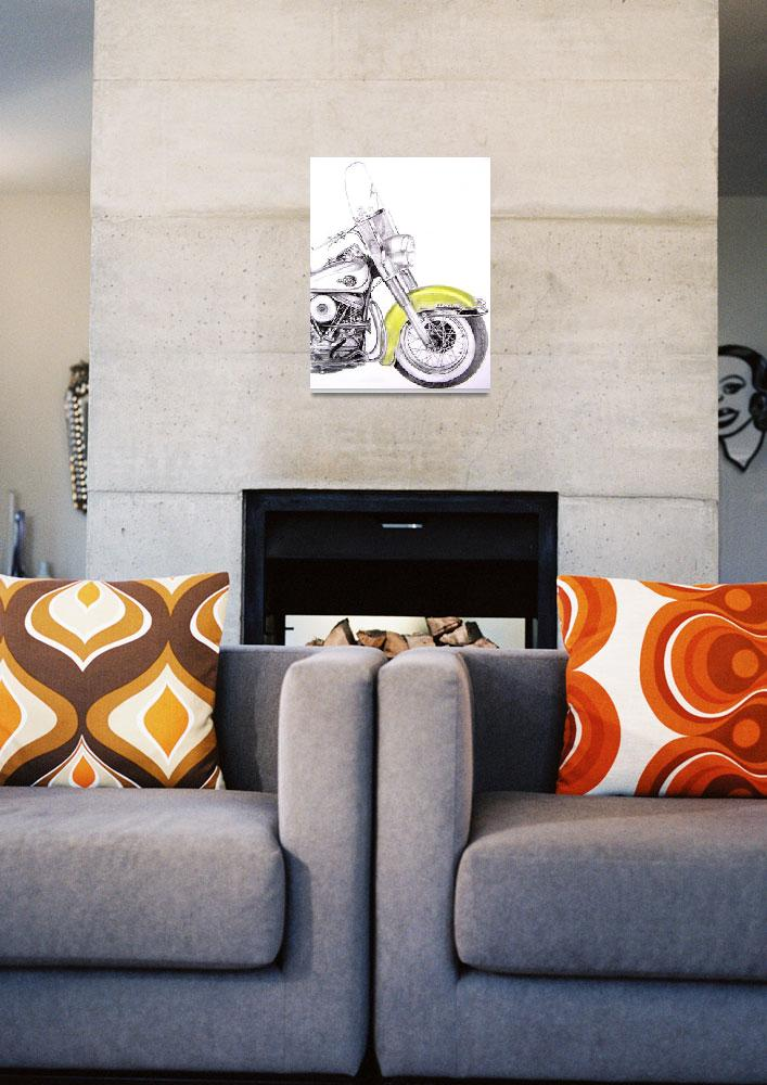 """""""1960 Harley Davidson Duo-Glide&quot  (2009) by TJCleary"""