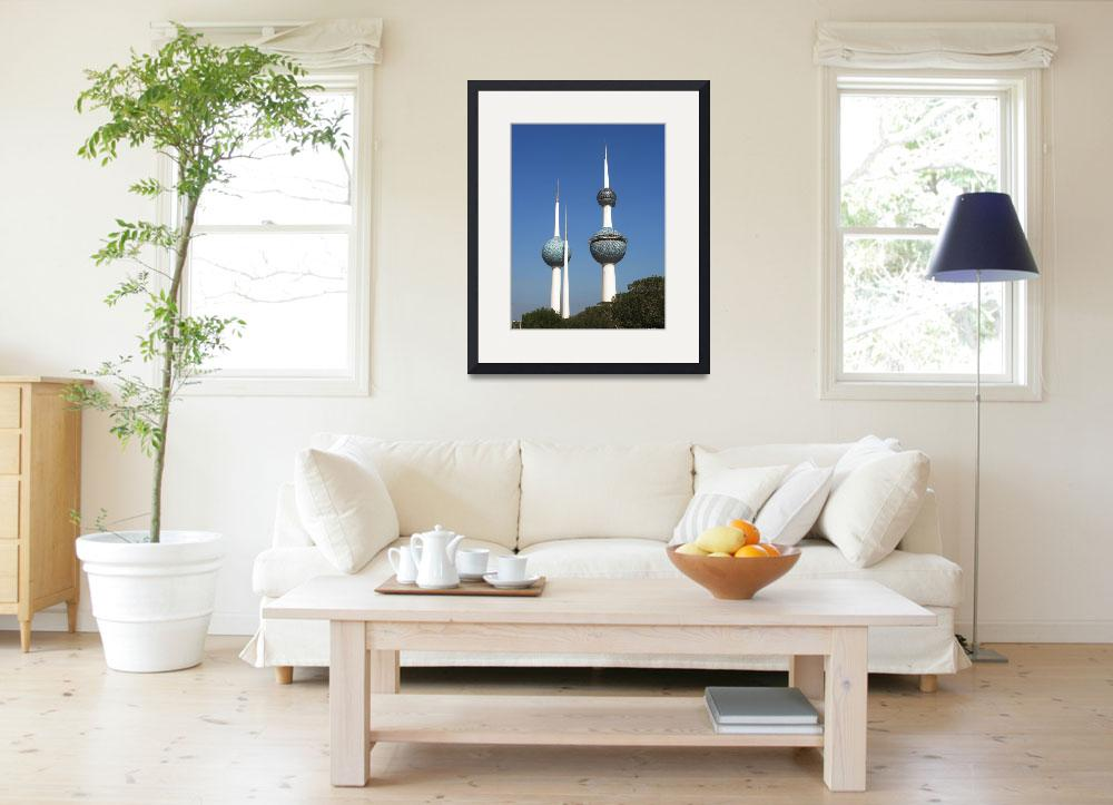 """""""Kuwait Towers&quot  (2008) by Just4Fun"""