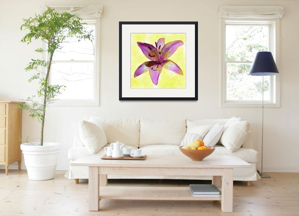 """""""Pink Lily&quot  (2006) by IMAGESDEZIGNS"""