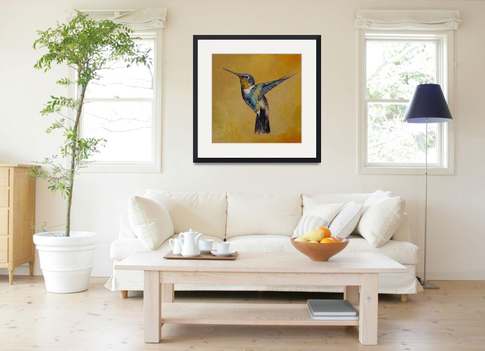 """""""Hummingbird&quot  by creese"""