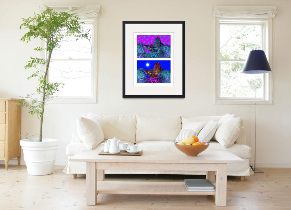 """""""Paysage 1 diptyque : Night & Day&quot  by bohin"""