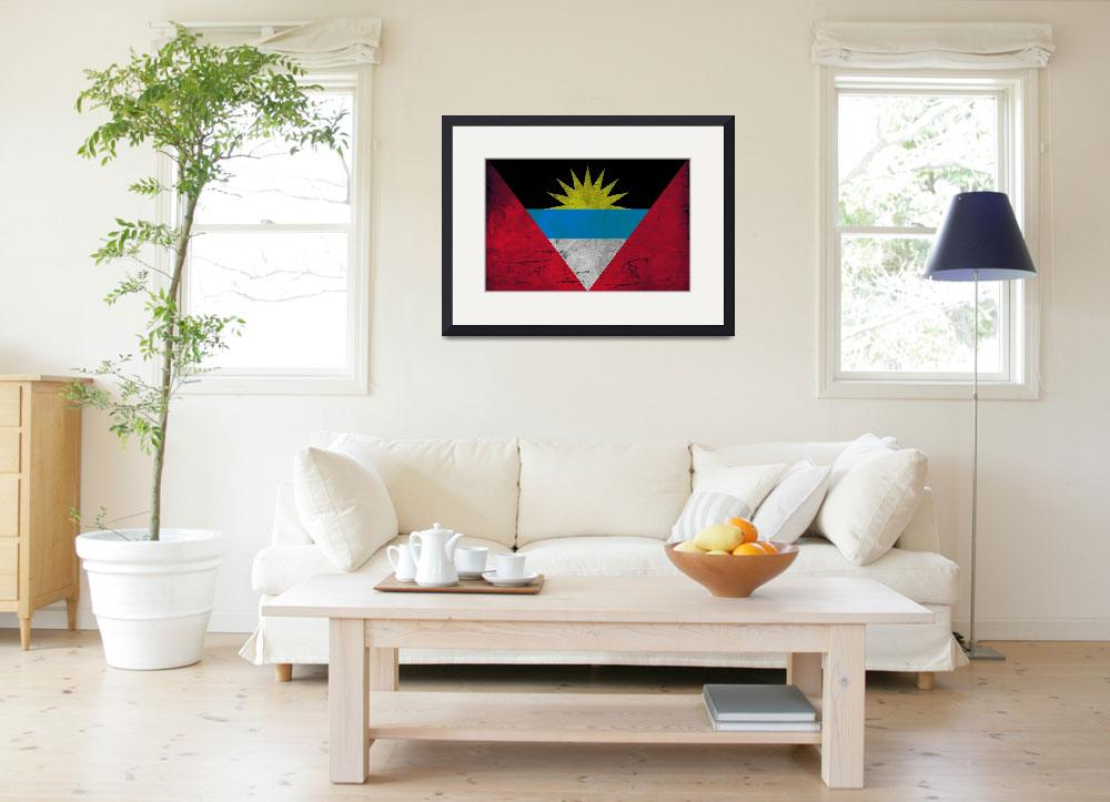 """""""ANTIGUA AND BARBUDA-FLAG&quot  (2014) by thegriffinpassant"""