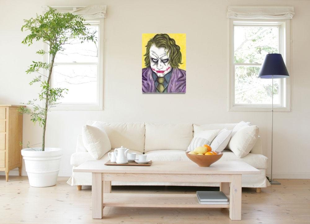 """Heath Ledger The Joker&quot  (2011) by EdMedArt"