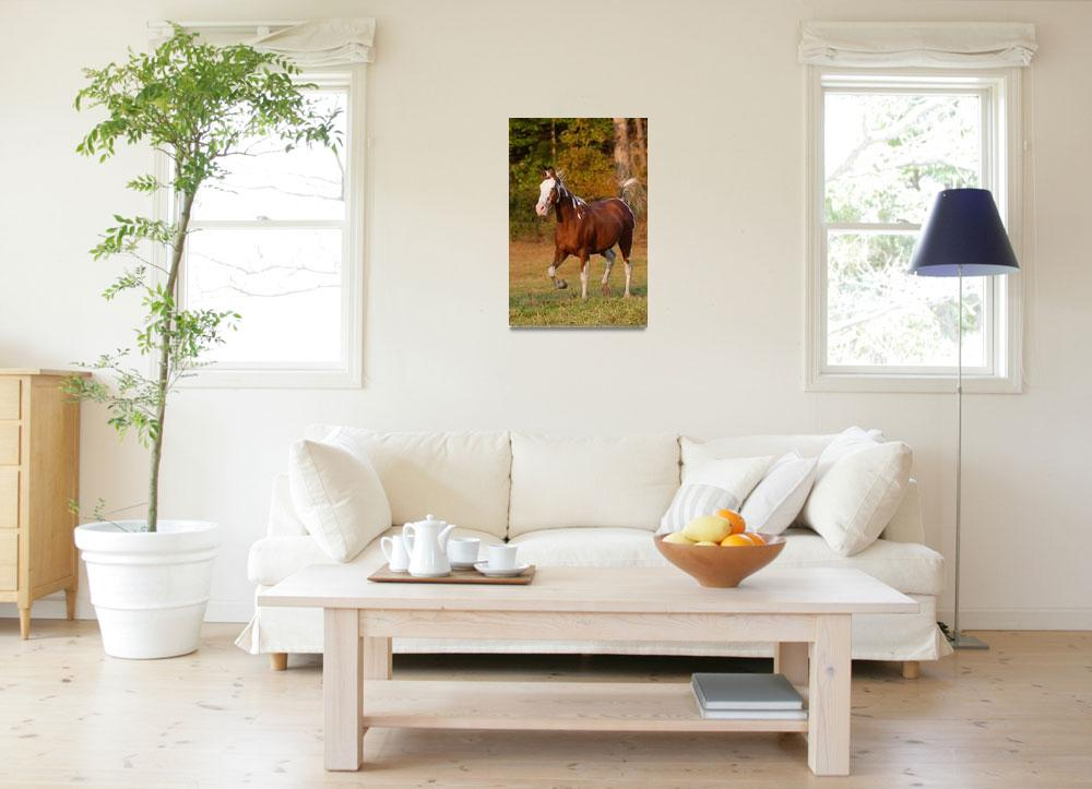 """Running Horse""  by WorldDesign"