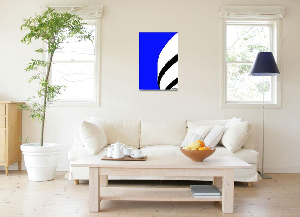 """""""Blue Sky - Art Gallery Selection&quot  by Lonvig"""