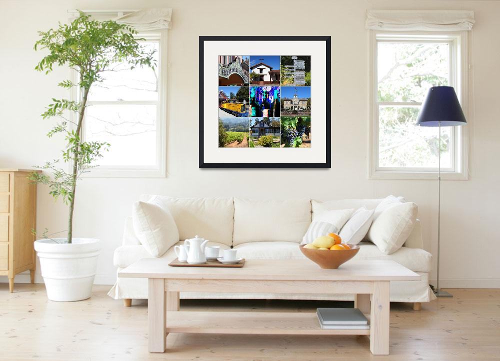 """""""Sonoma County Wine Country 20140906&quot  by wingsdomain"""