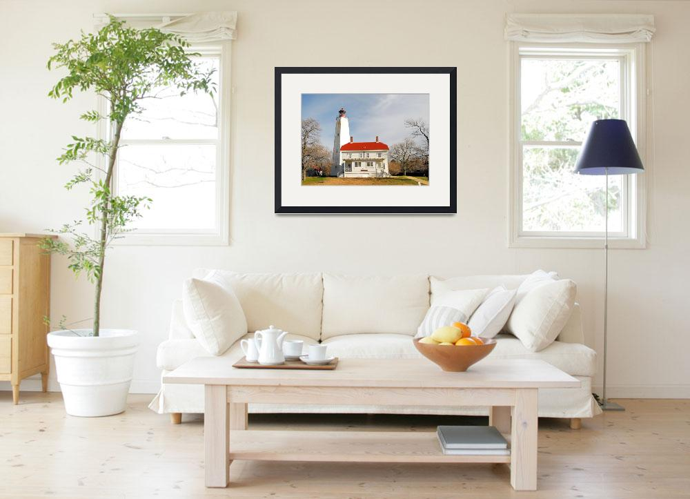 """""""Sandy Hook Lighthouse&quot  by doncon402"""