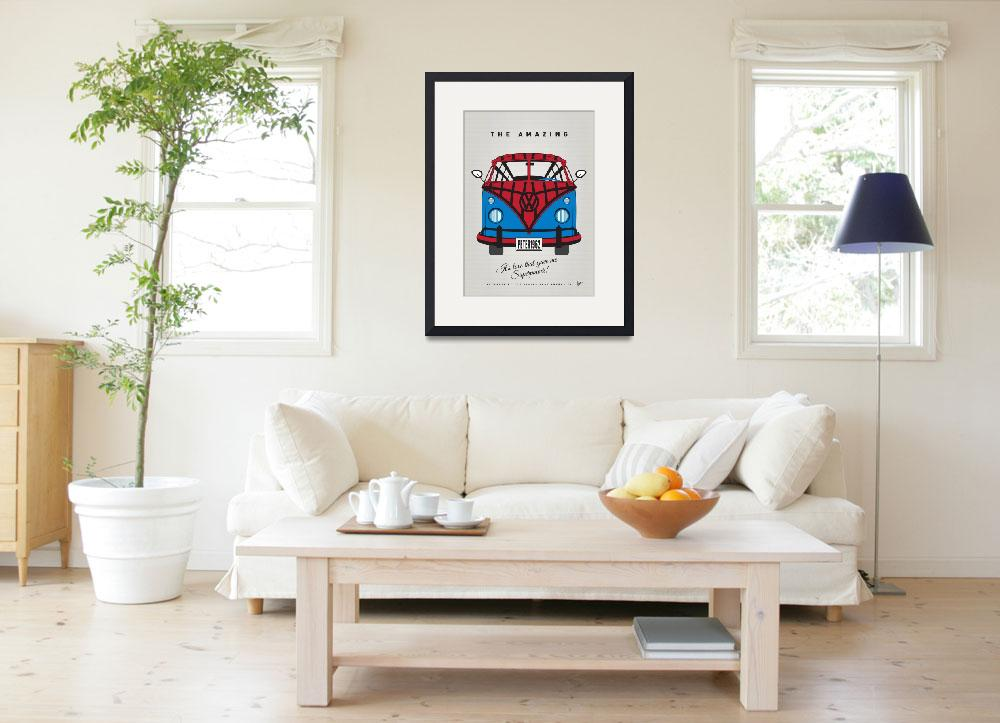 """""""MY SUPERHERO-VW-T1-spiderman&quot  by Chungkong"""