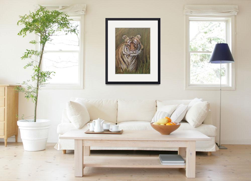 """Bengal Tiger""  (2014) by jodihiggins"