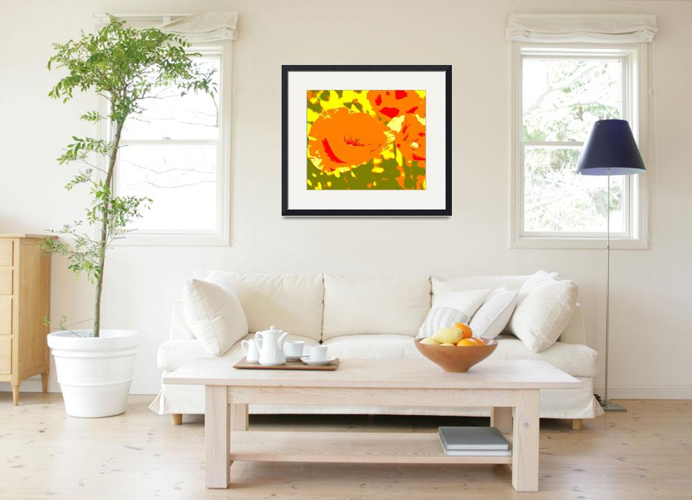 """""""Poppies&quot  (2006) by fpi"""