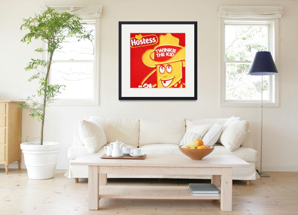 """""""Hostess Twinkie The Kid&quot  (2013) by RubinoFineArt"""