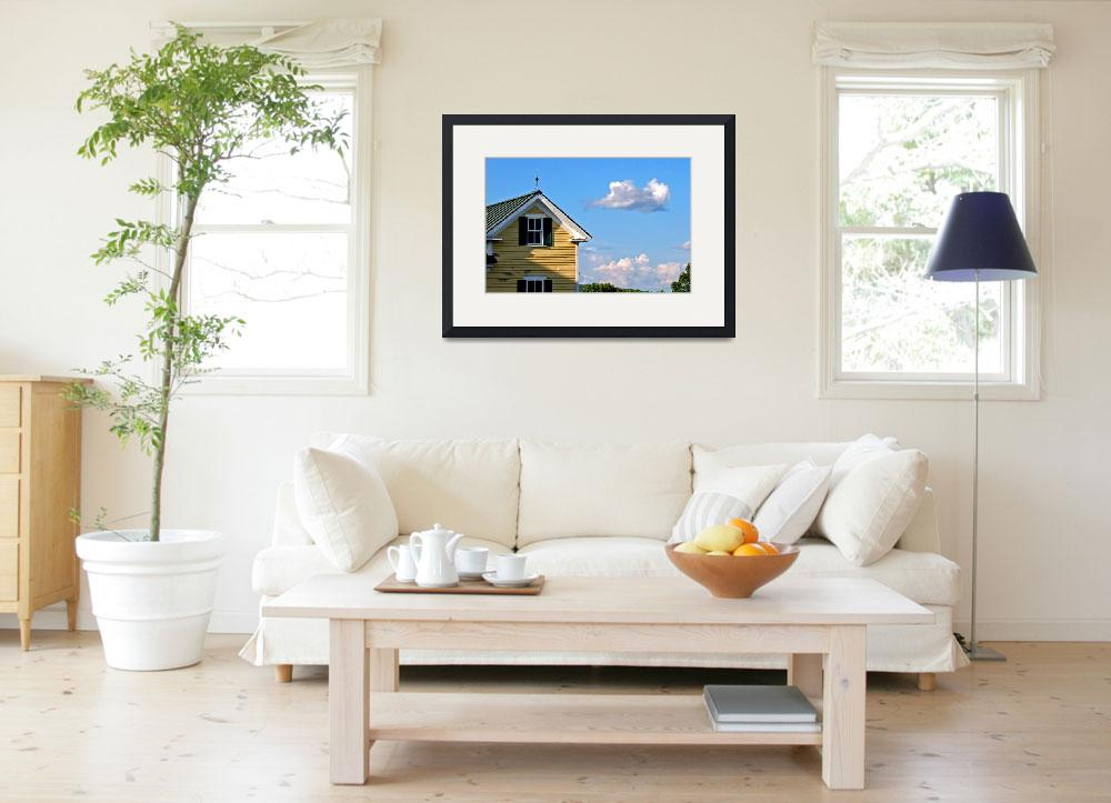 """""""House and Cloud&quot  (2014) by davidgilbert"""