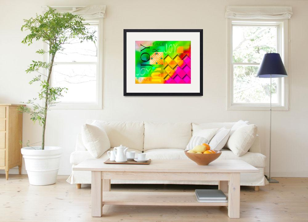 """""""joy abstract 2013&quot  (2013) by schuhfly"""