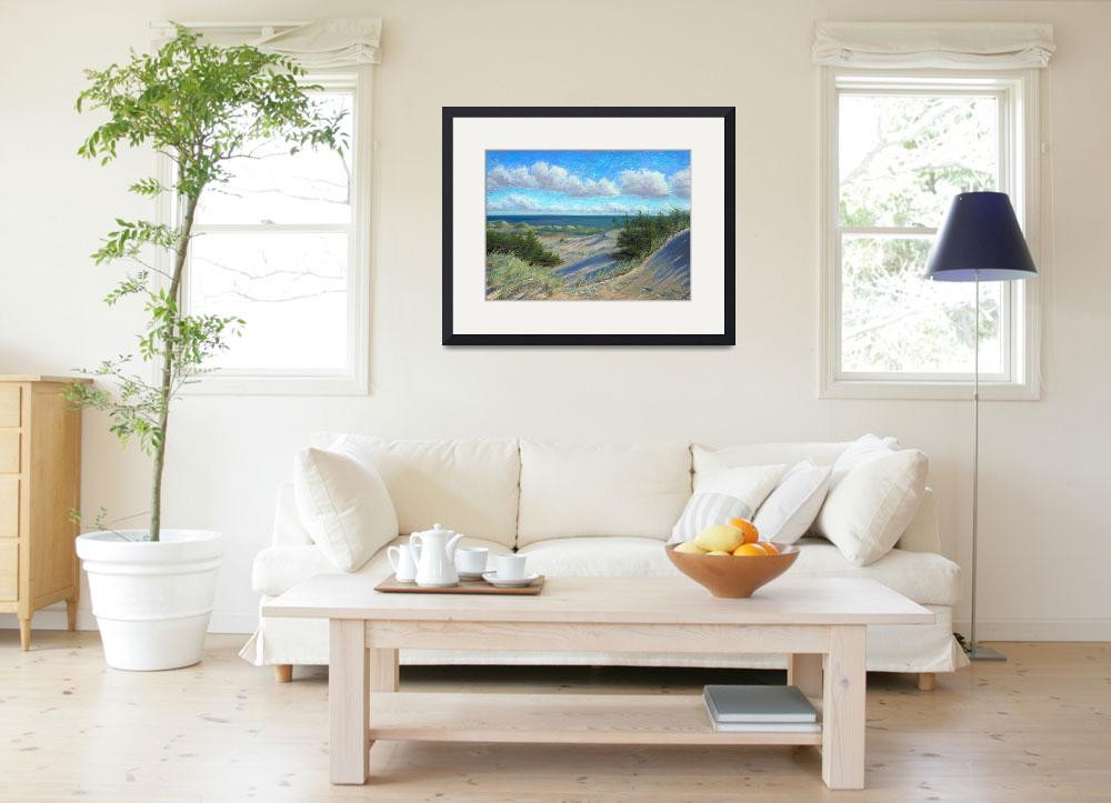 """Dune View Race Point Cape Cod&quot  (2009) by NoWallsStudio"