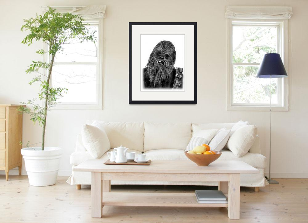 """Chewbacca""  (2012) by axemangraphics"