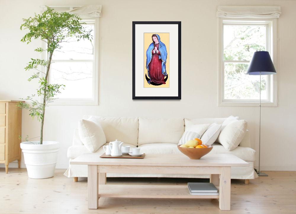 """The Blessed Mother""  (2007) by woodmaster"